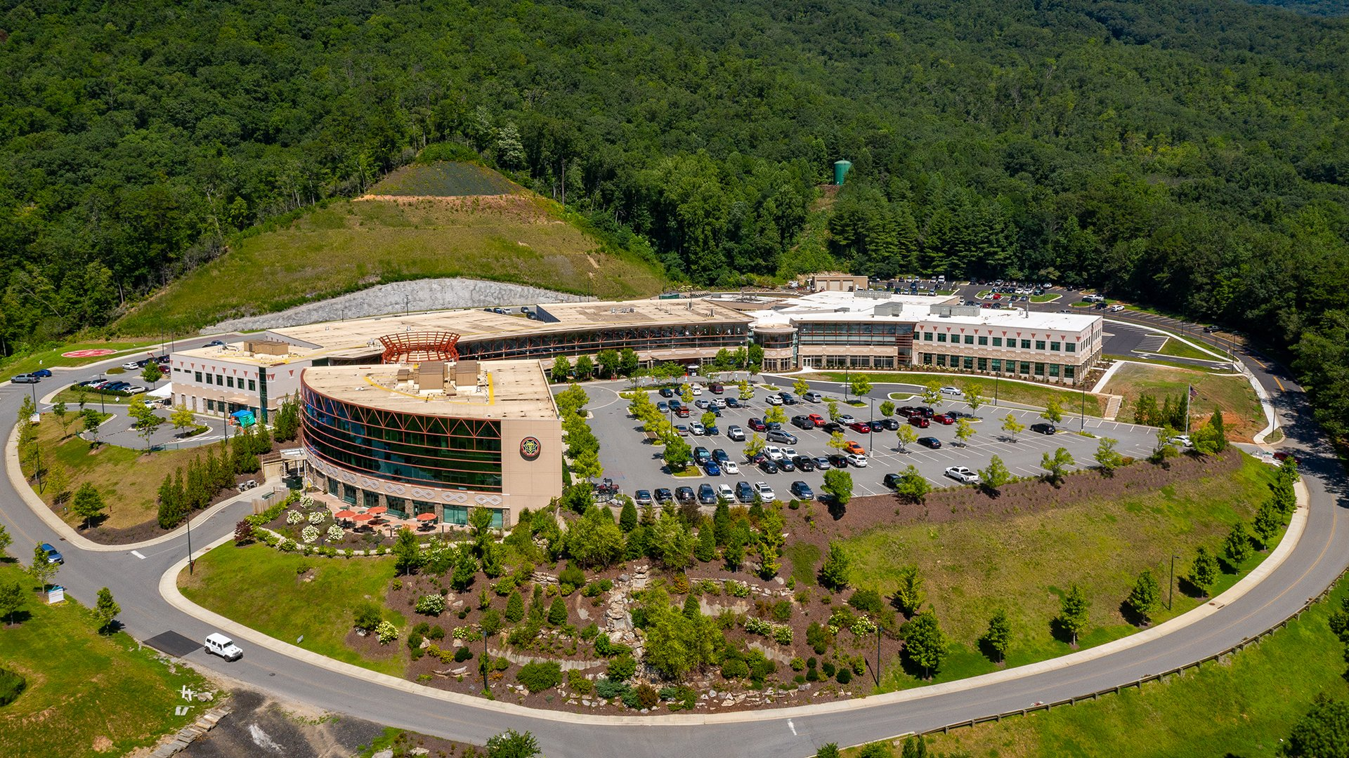 Cherokee Indian Hospital Authority, Behavioral Health Exterior