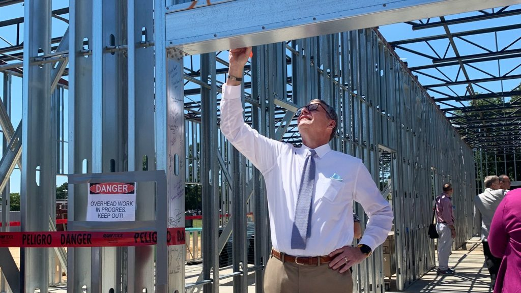 Cape Fear Valley Health System, Topping Out Ceremony