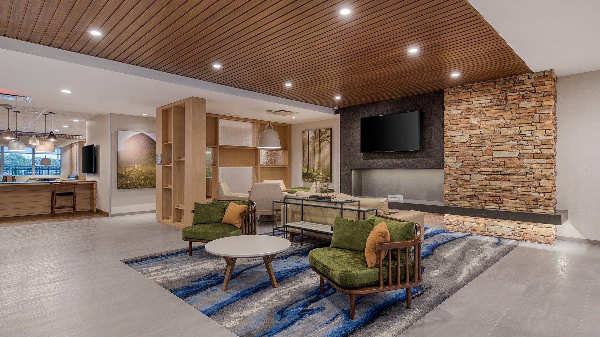 Fairfield Inn by Marriott Charlotte Belmont Lobby