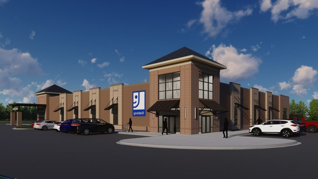 Goodwill Store & Job Connection, Chesnee, SC - rendering