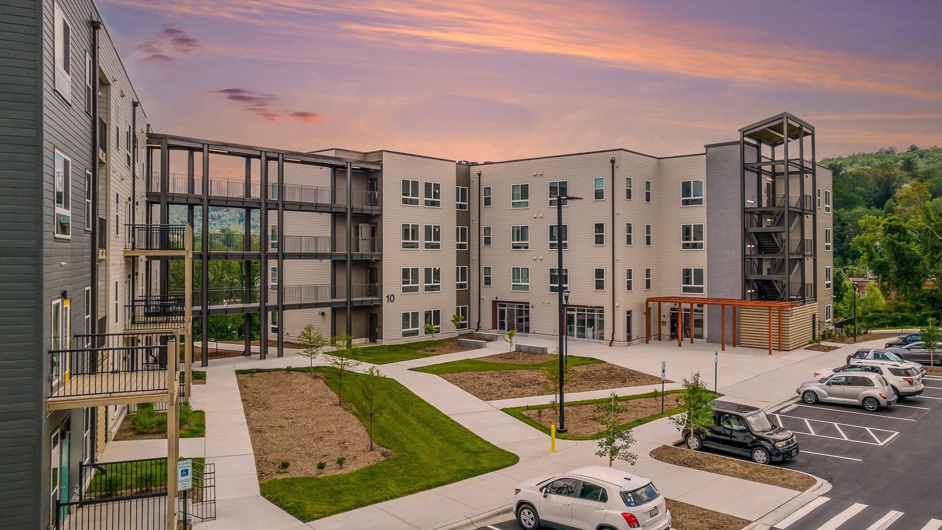 Maple Crest Housing, Asheville