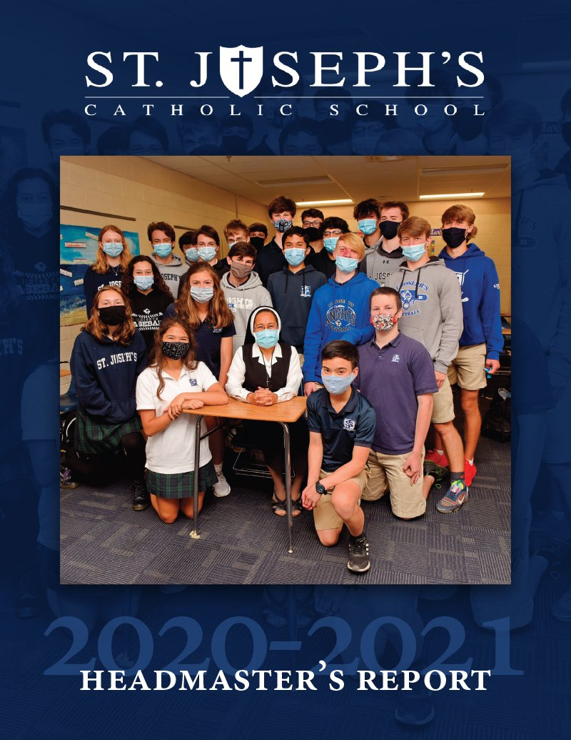 Saint Joseph's Catholic School Article on Joe Pazdan, Sr.