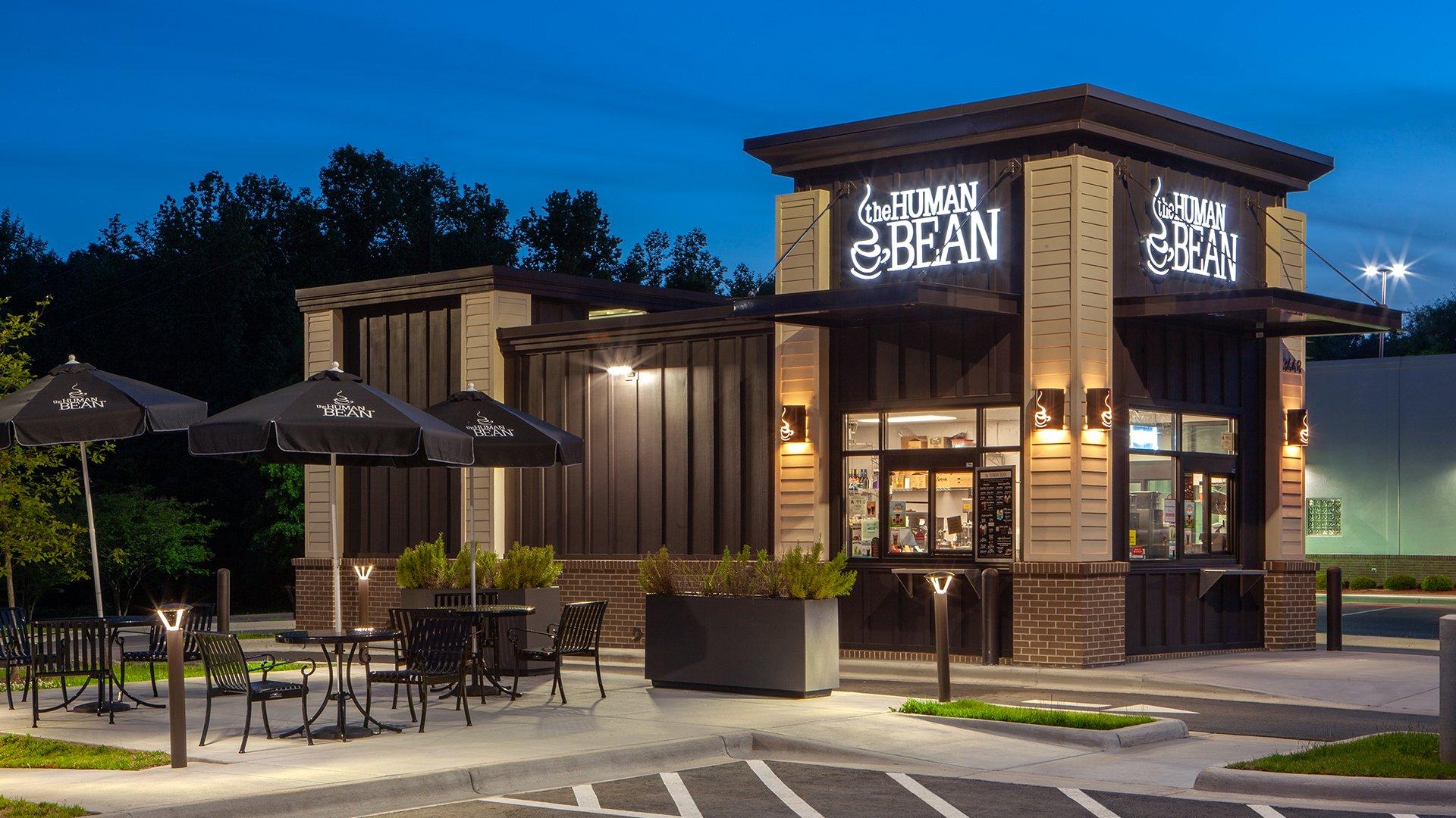 the human bean coffee shop