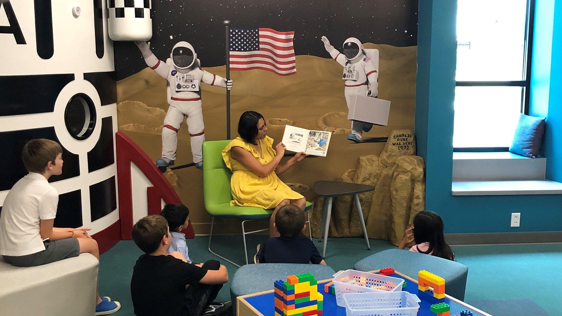 Lancaster Library, Main Branch, Children's Room