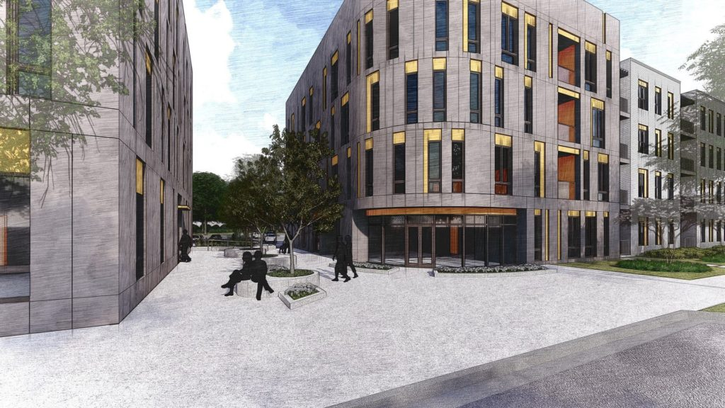 Nicholtown Affordable Housing, rendering