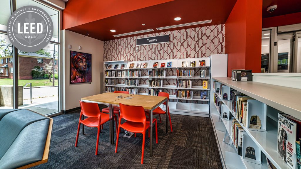 Hapeville Library Receives LEED Gold Certification