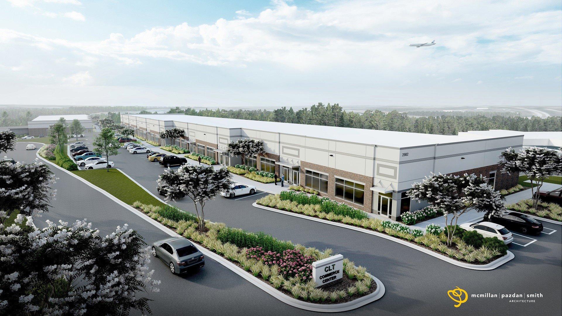 CLT Commerce Center rendering