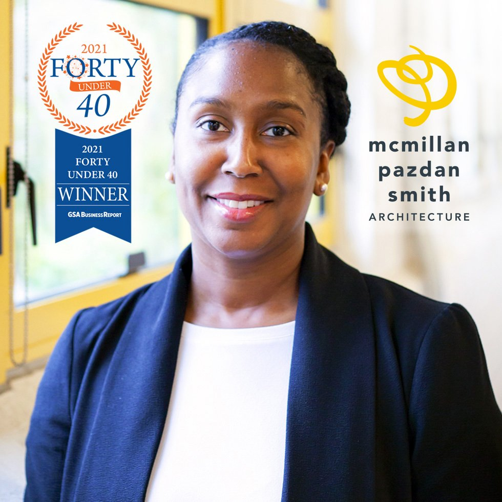 Pictured: Nicole Andrews, Forty Under 40 photo