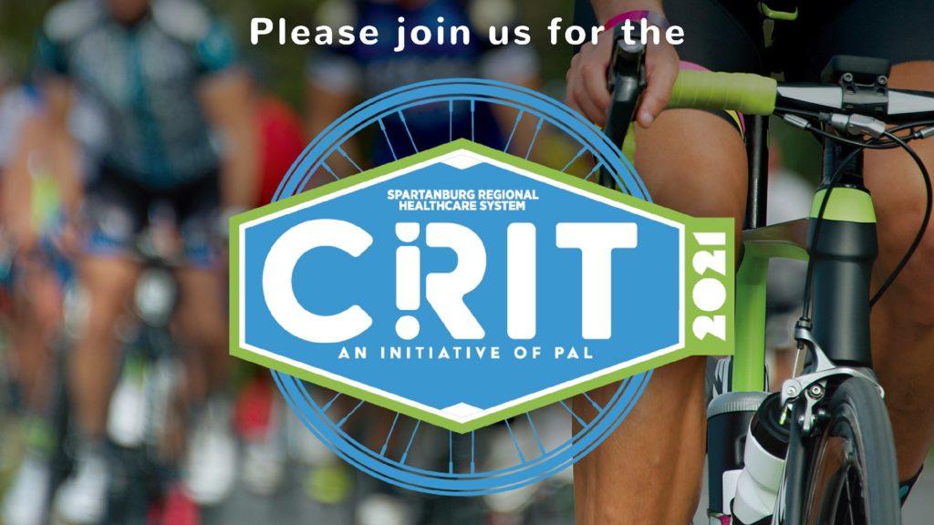 Spartanburg Criterium Bike Race graphic and logo, 2021
