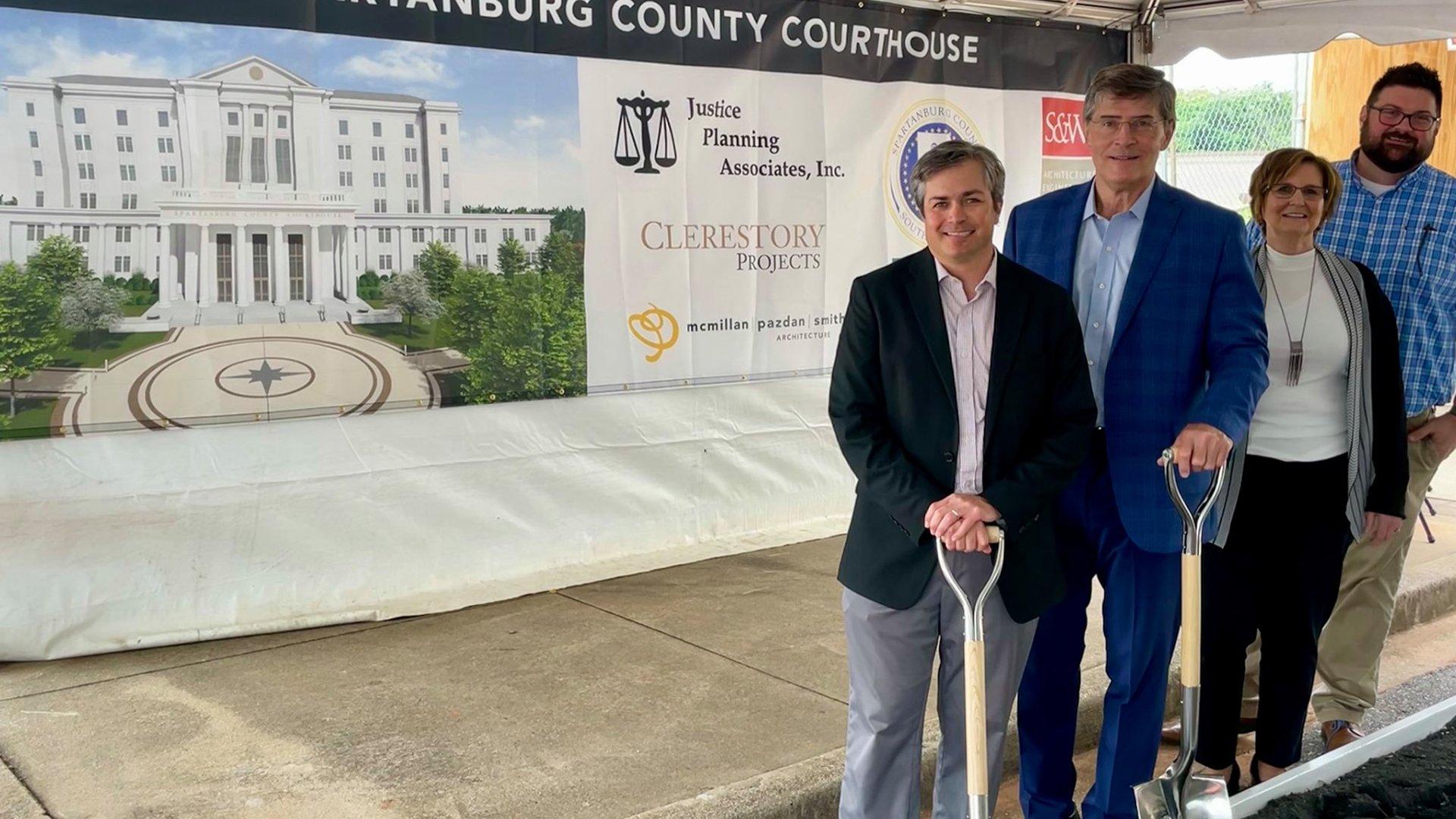 Spartanburg County Courthouse Groundbreaking