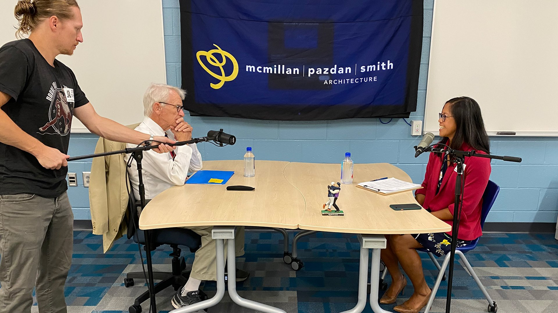 The Future of K-12 Education Podcast, featuring Mayor Joe Riley and host, Michelle Smyth